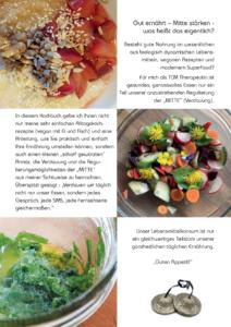 Kochbuch TCM Rezepte Zutaten & Zubereitung